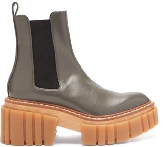 Stella McCartney Emilie Platform Chelsea Boots - Grey
