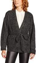 Gestuz Women's Oba Short Plain Long Sleeve Cardigan