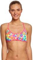 Funkita Women's Stroke Rate Tie Back Bikini Top 8151658