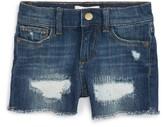 DL1961 Toddler Girl's Distressed Cutoff Denim Shorts