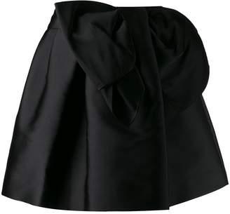 P.A.R.O.S.H. bow detail skirt