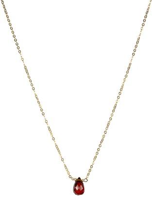 Nashelle January Synthetic Birthstone Choker Necklace