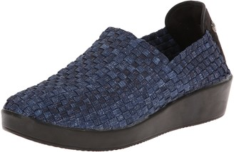 Bernie Mev. Women's Smooth Cha Slip-On Loafer