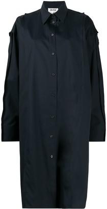 Acne Studios Oversized Mid-Length Shirt Dress
