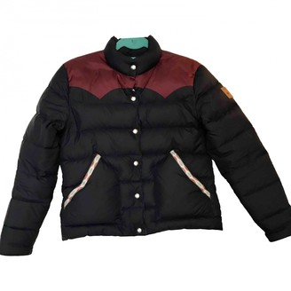Penfield Blue Leather Jacket for Women