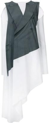 MM6 MAISON MARGIELA Jacket Layered Dress