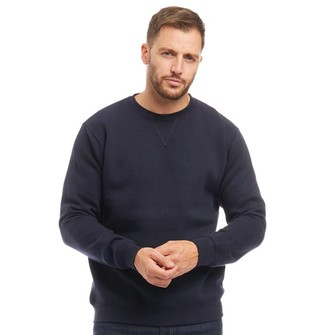 Kangaroo Poo Mens Crew Neck Sweatshirt Navy