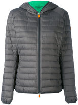 Save The Duck - hooded puffer jacket - women - Nylon/Polyester - 5