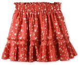 Stella McCartney twinkle red star print skirt