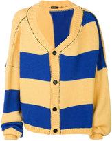 Raf Simons oversized cropped cardigan