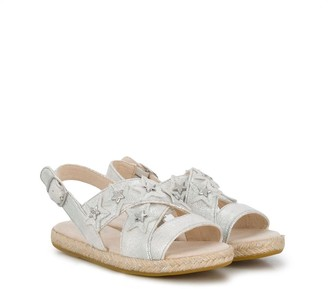 Ugg Kids Allairey star plaque detail sandals