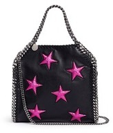 Stella McCartney 'Falabella' mini star appliqué two-way chain tote