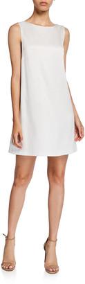 Alice + Olivia Lita Sleeveless Cowl-Back Mini Shift Dress