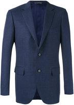 Canali two button blazer - men - Cupro/Wool - 48