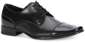 Calvin Klein Men's Bram Diamond Textured Oxfords Men's Shoes