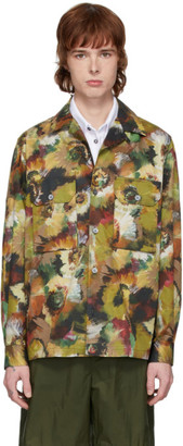 Davi Paris Multicolor Branly Overshirt Jacket