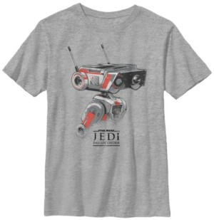 Star Wars Big Boys Jedi Fallen Order Droid Bd-1 Short Sleeve T-Shirt