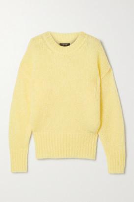 Isabel Marant Estelle Mohair-blend Sweater - Pastel yellow