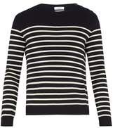 Valentino Rockstud Untitled #7 Striped Wool Sweater