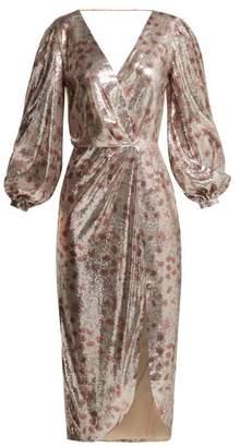 Johanna Ortiz Alfonsina Storni Sequined Dress - Womens - Cream Multi