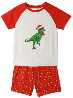 Milkshake Xmas Dino Pyjamas