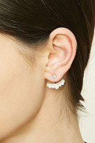 Forever 21 FOREVER 21+ Faux Pearl Ear Jackets