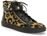 Juicy Couture Laverne Lace-Up High Top Sneaker