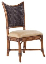 Tommy Bahama Island Estate Solid Wood Upholstered Dining Chair Home
