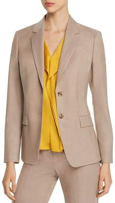 BOSS Jasuala Virgin Wool Blazer