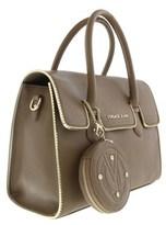 Versace Ee1vqbbh6 E148 Structured Silhouette- Top Handle Satchel Oasi Satchel Bag.