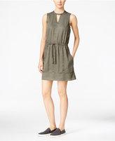 Calvin Klein Jeans Drawstring-Waist Shift Dress