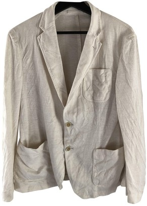 Salvatore Ferragamo White Cotton Jackets