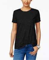 Style&Co. Style & Co Rolled-Cuff T-Shirt, Created for Macy's