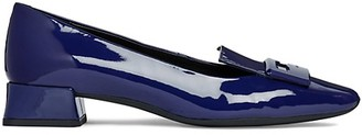 Geox Vivyanne Patent Leather Heeled Loafers
