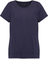 Yummie by Heather Thomson Adriana split-back stretch-jersey T-shirt
