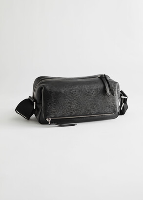 And other stories Slouchy Leather Crossbody Bag