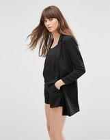 Vero Moda Noah Longline Jacket In Black