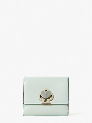 Kate Spade Nicola Twistlock Bifold Flap Wallet