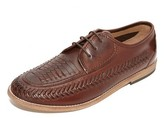 H By Hudson Anfa Calf Woven Lace Up Oxfords