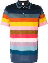 Paul Smith striped polo shirt - men - Cotton - S