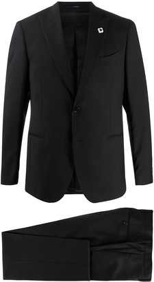 Lardini Two-Piece Virgin Wool Suit