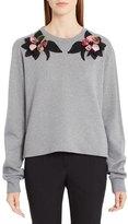 Dolce & Gabbana Rose Embellished Sweatshirt