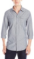 Calvin Klein Jeans Men's Geo Jacquard Shirt