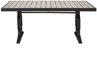 Parkwood Plastic/Resin Dining Table Bay Isle Home