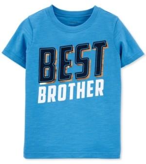 Carter's Toddler Boys Best Brother-Print Cotton T-Shirt