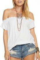Chaser Shirred Boho Tee