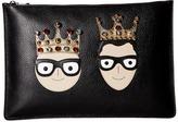 Dolce & Gabbana Crowned Portfolio Wallet Handbags