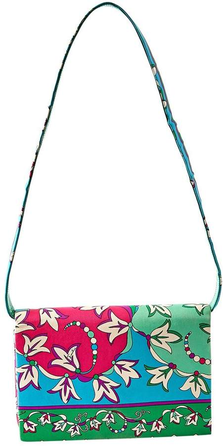 Emilio Pucci Vintage Multicolour Cloth Clutch Bag
