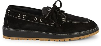 Giuseppe Zanotti Suede Boat Shoes