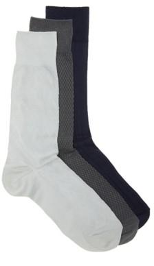 Cole Haan Argyle Men's Crew Socks - 3 Pack
